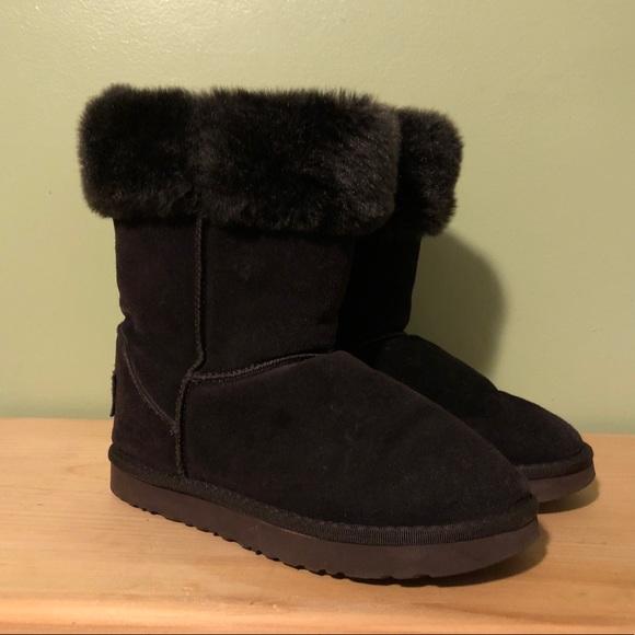 Dark Purple Boots (Not real Uggs)